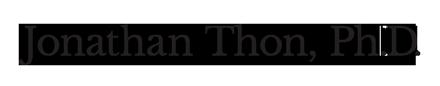 Jonathan Thon, Ph.D.